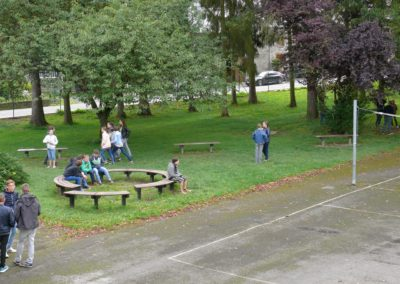 Parc au Collège d'Alzon